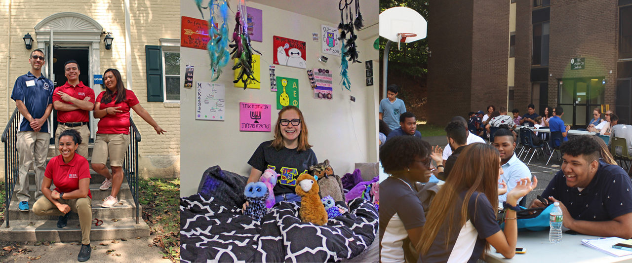 Good vibes all around on move-in day at the Metro Campus!