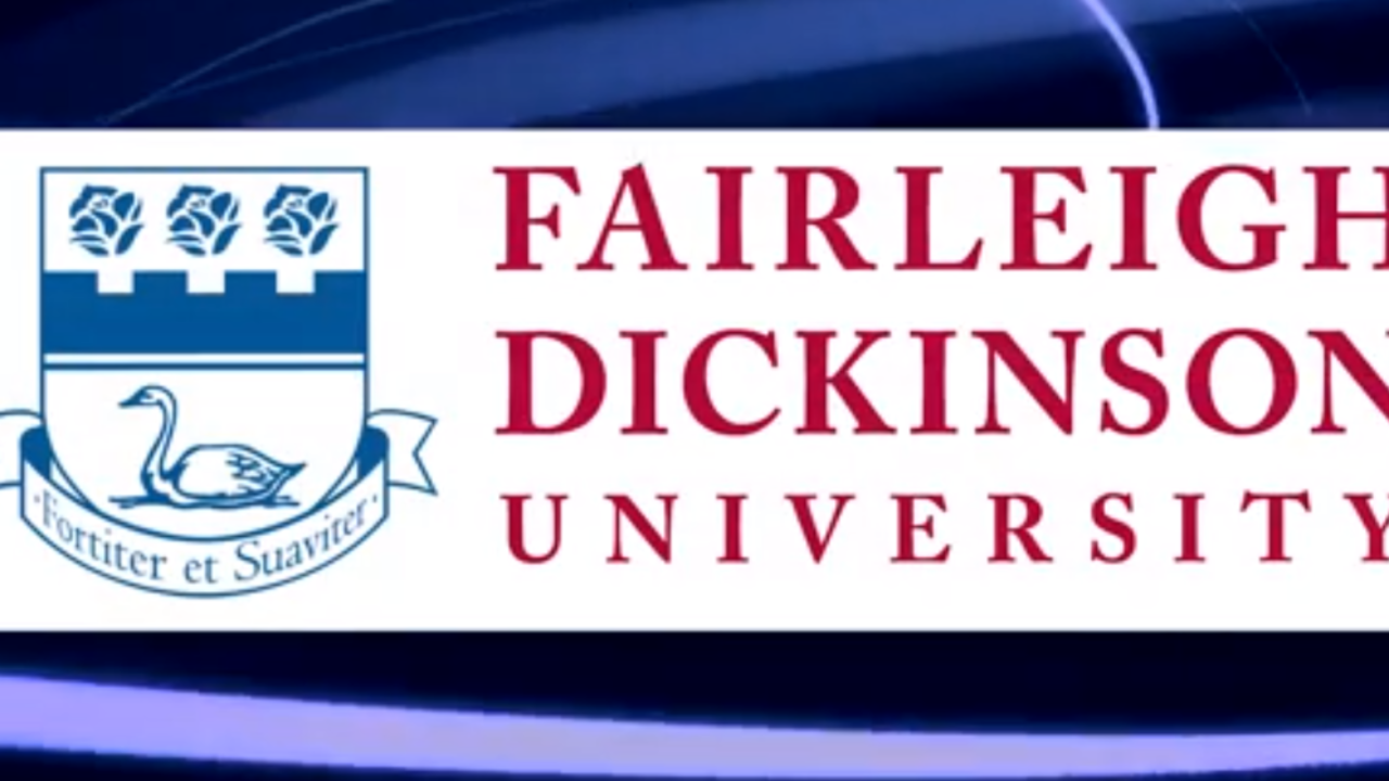 Fairleigh Dickinson University crest that shows before video
