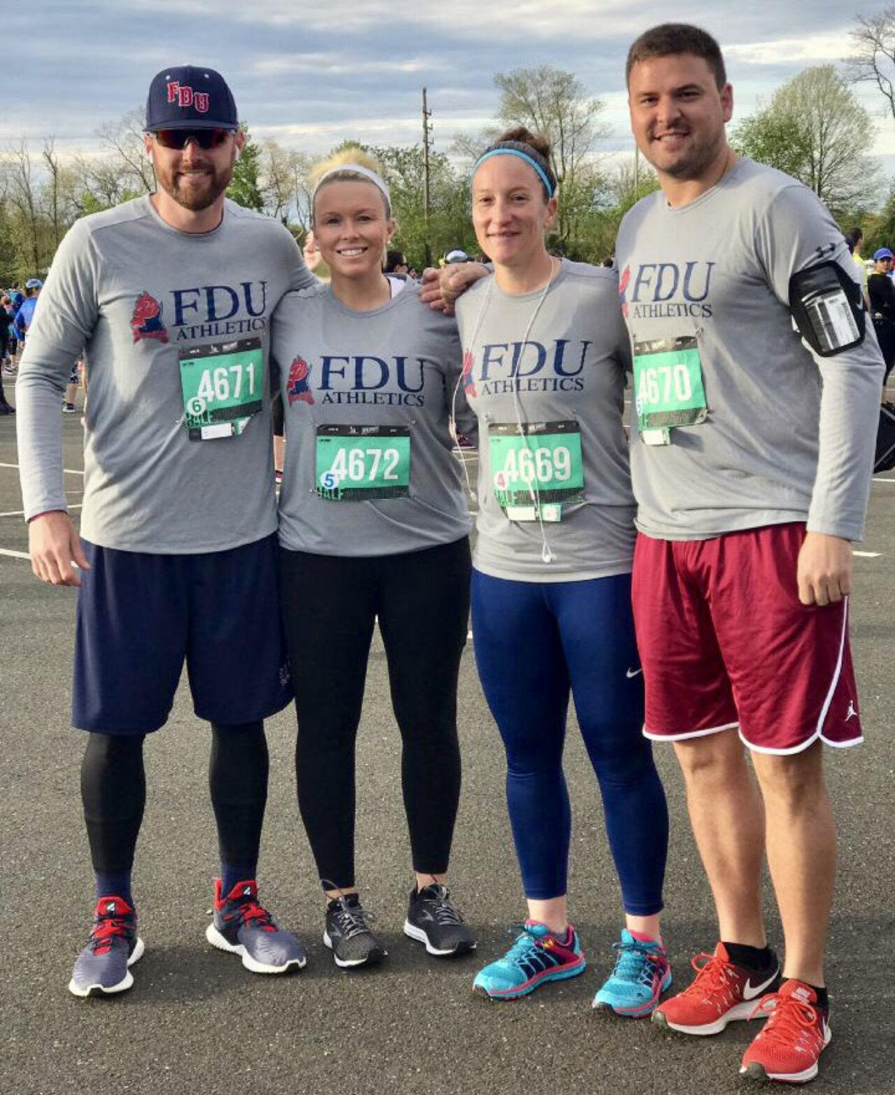 FDU coaches running half marathon for autism awareness