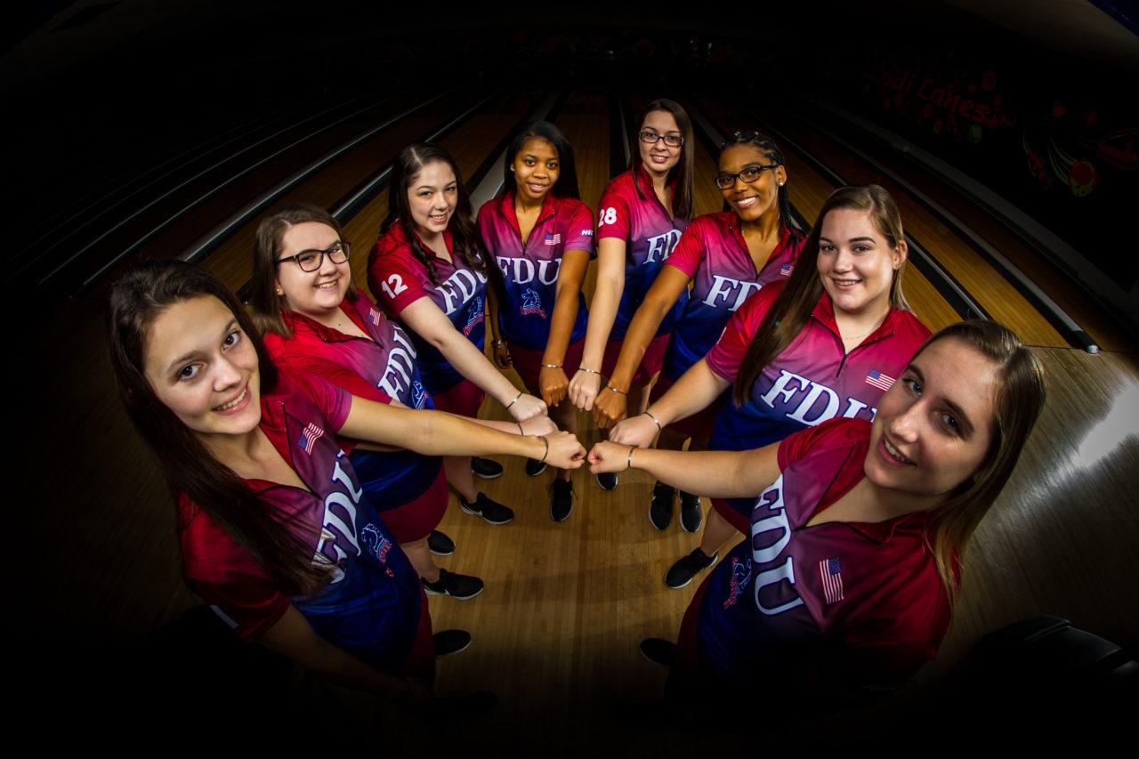 The FDU bowling team