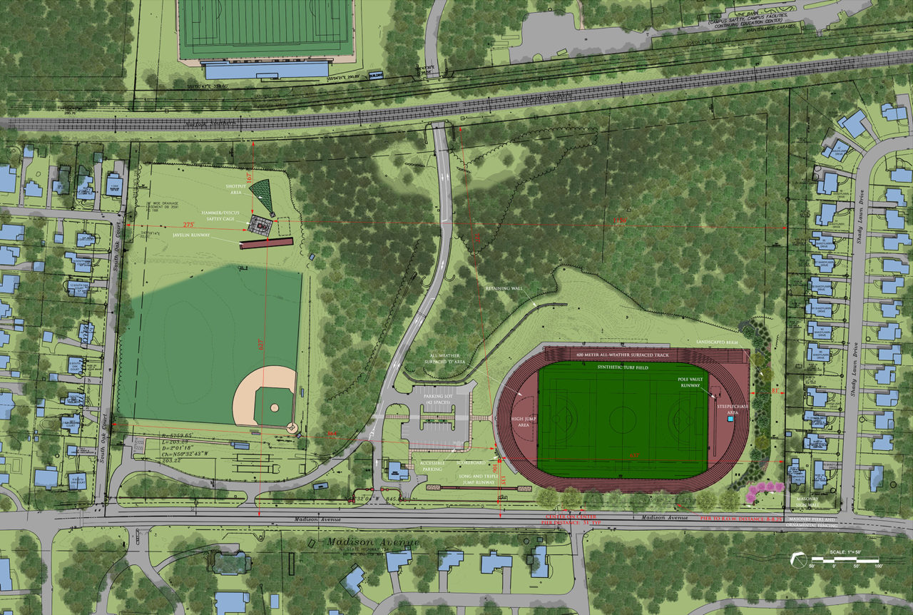 New athletics fields coming in 2020