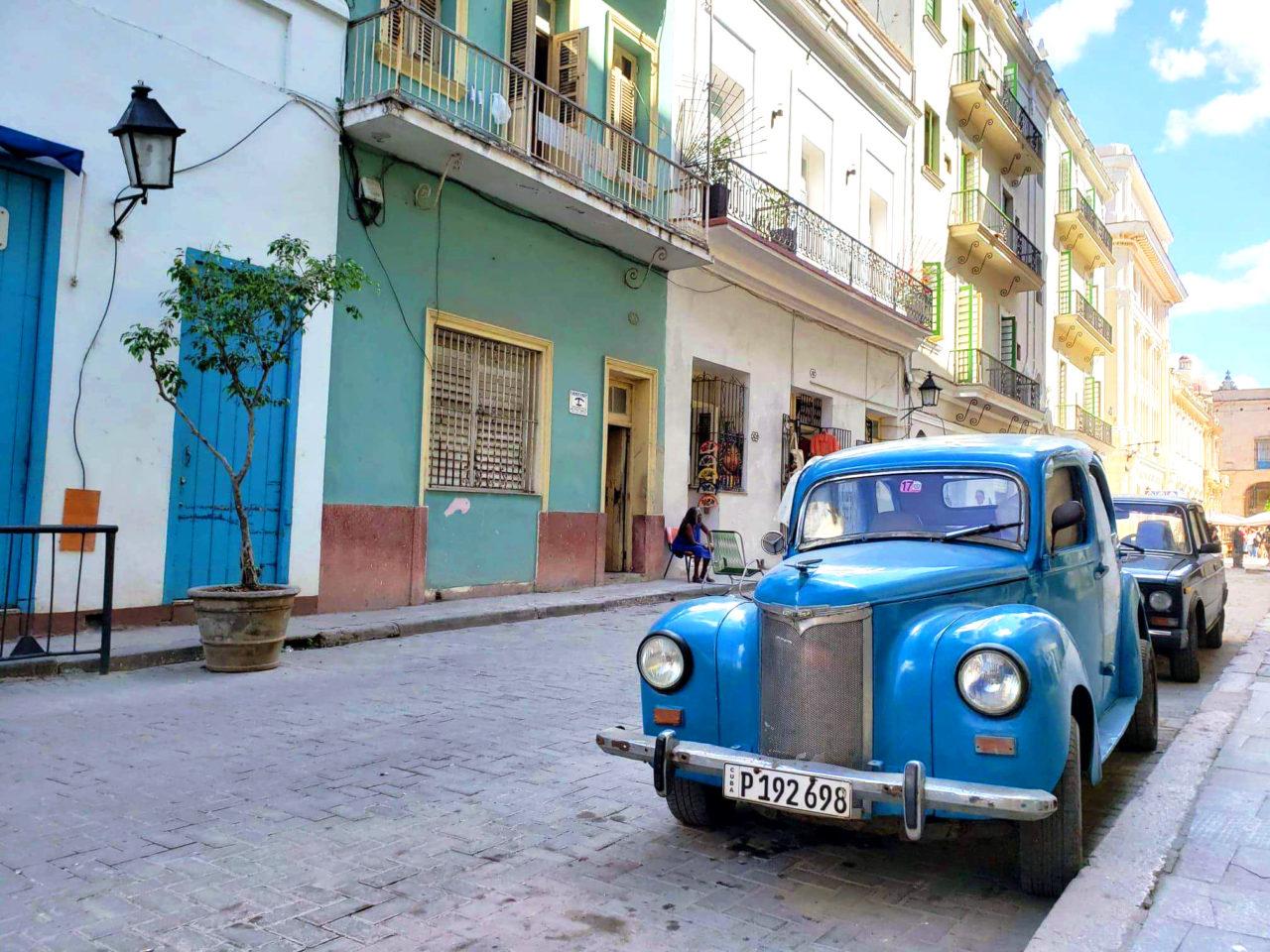 Vintage car in Havana, Cuba