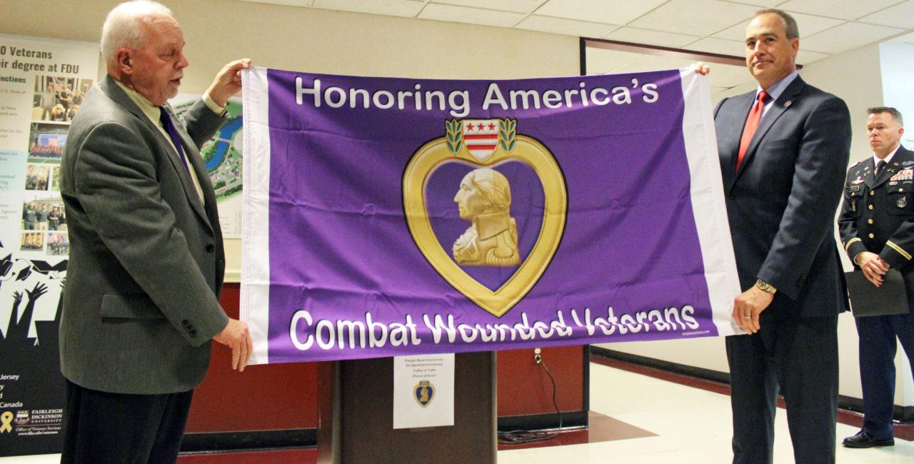 Purple Heart banner