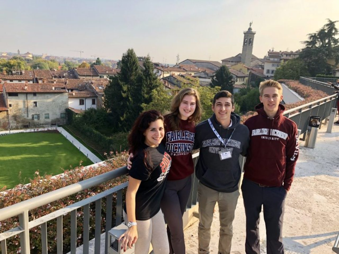 Students abroad in Italy