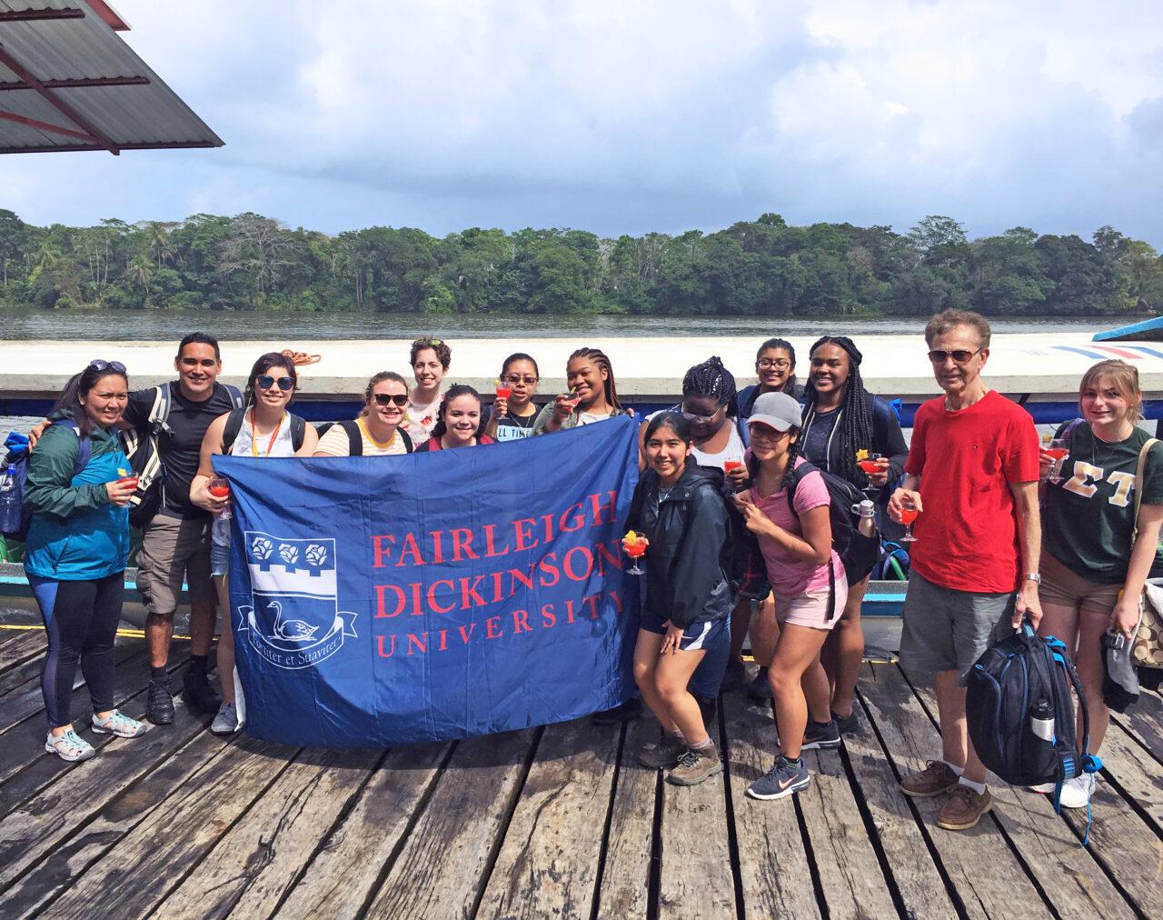 students in Costa Rica