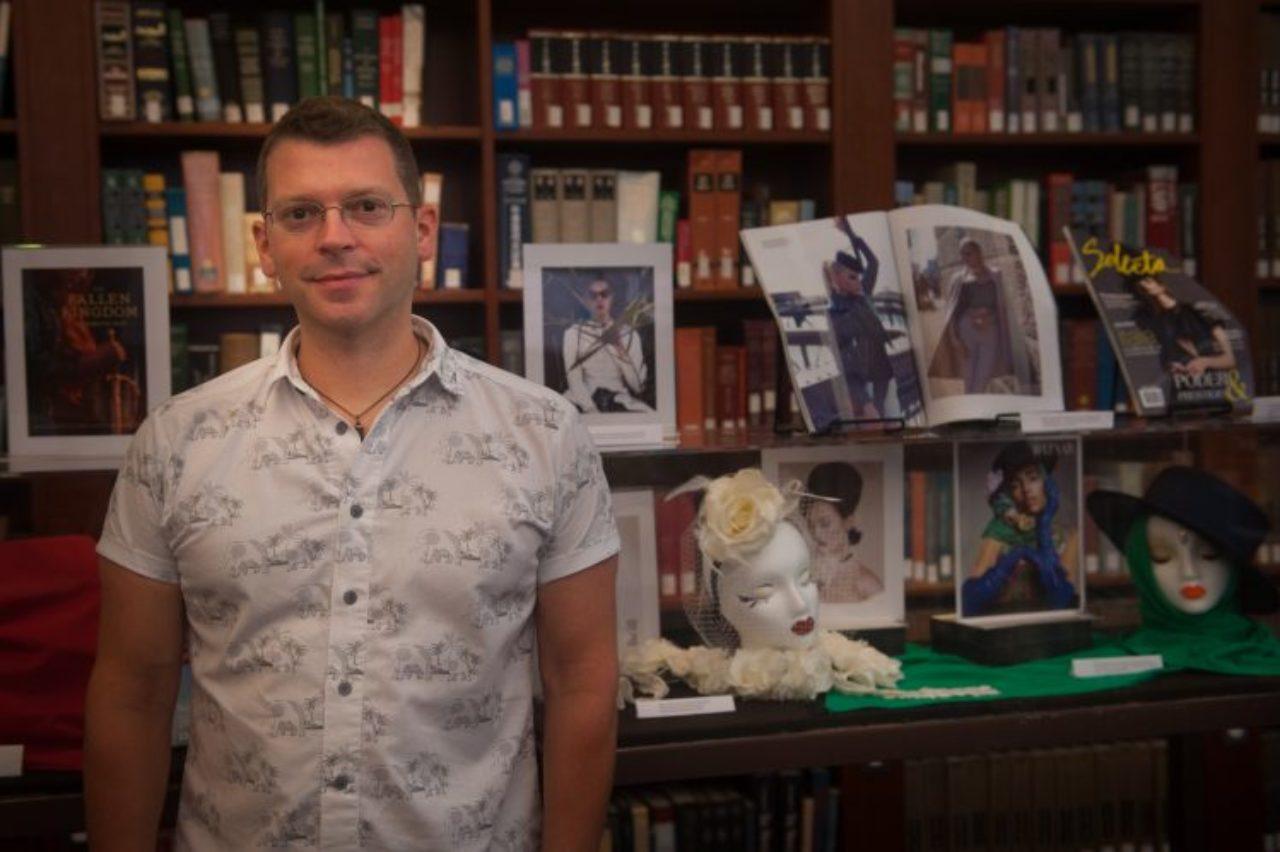 Library coordinator John Malpere