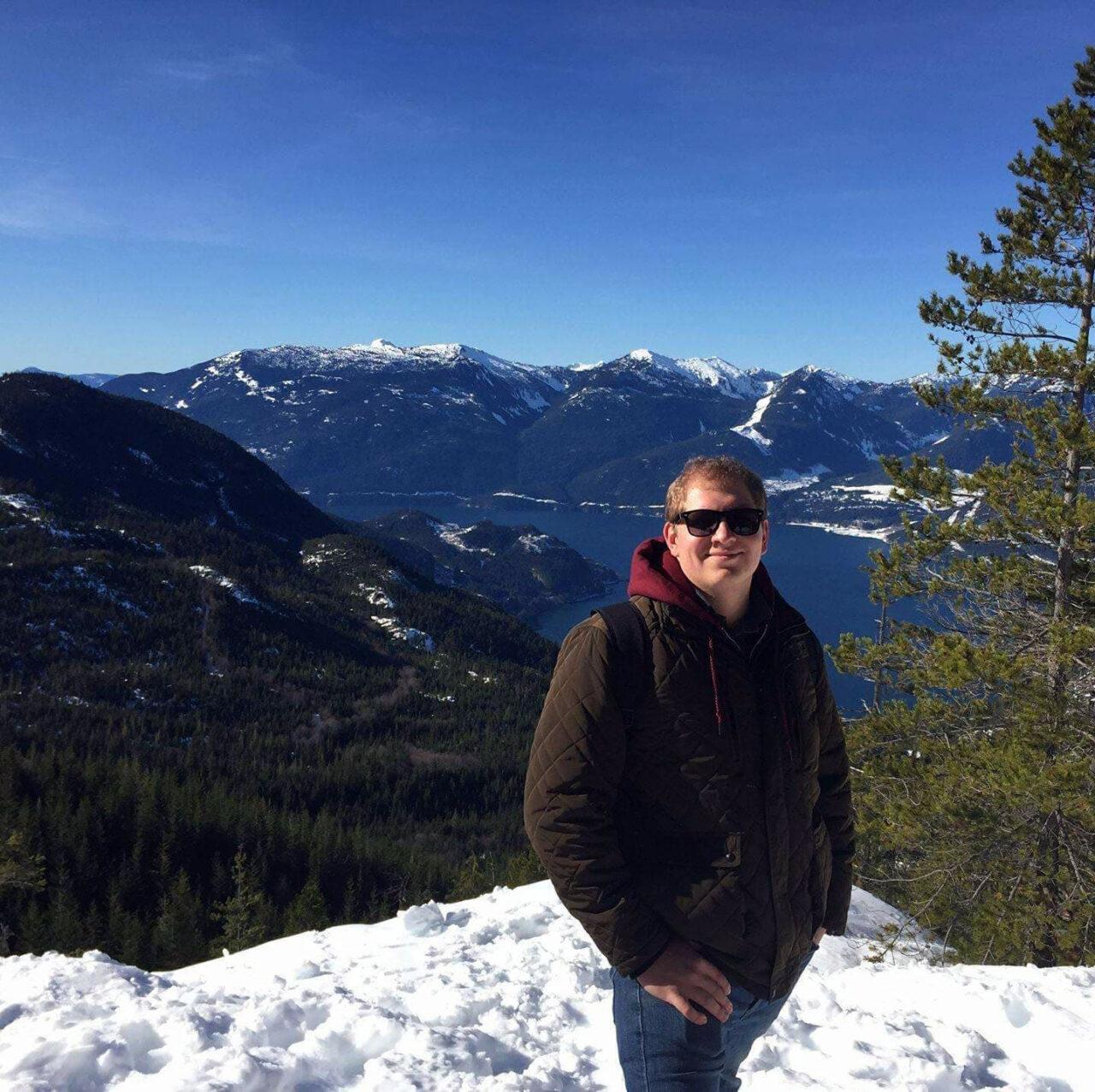 Orsini hikes in Squamish, British Columbia, Canada