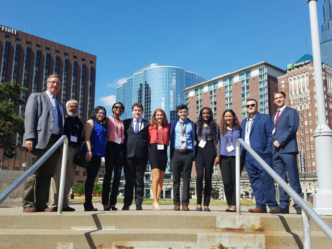 Professor Cleaves and the Enactus Club