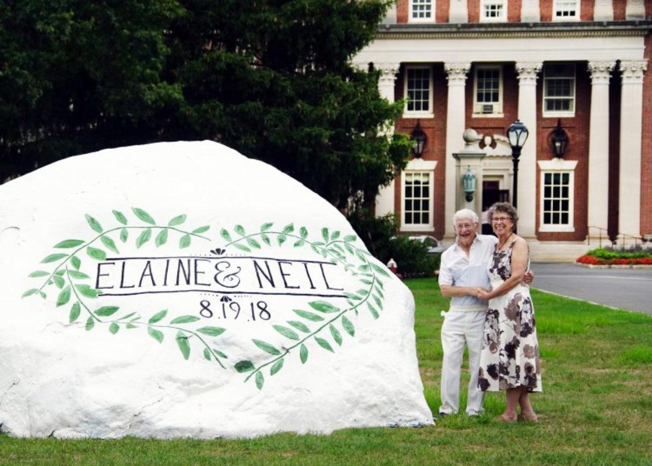 Neil Ullman (left) and Elaine Hoffman