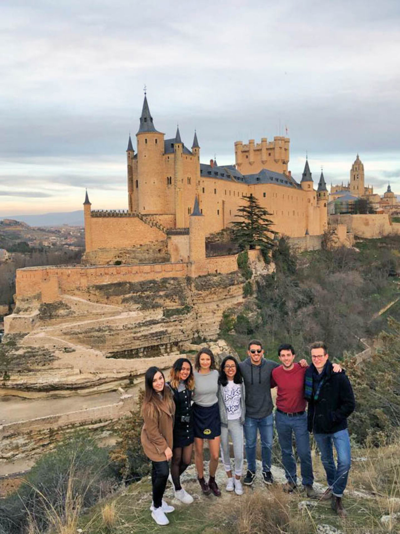 Together with a group of friends, Ediza Koch explored Segovia, a Spanish city north of Madrid