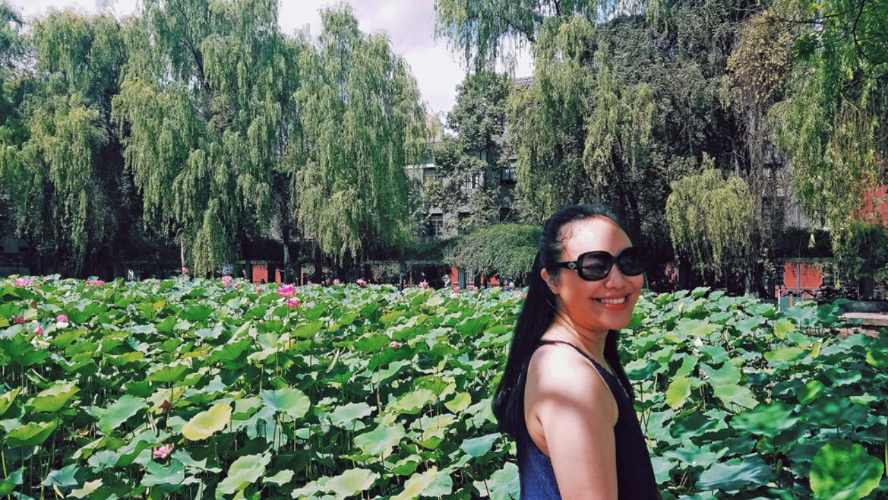 Amanda Lou at Sichuan University