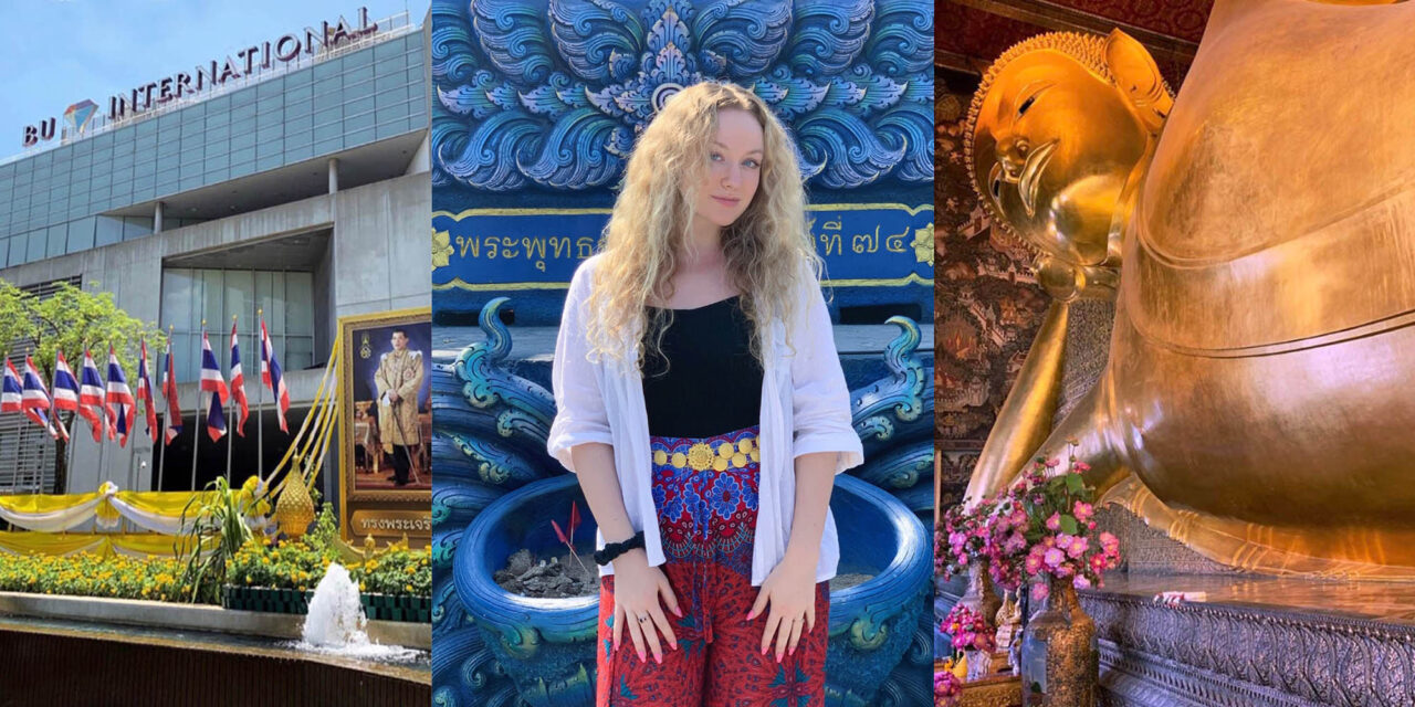 Olivia Baxter: study abroad in Thailand