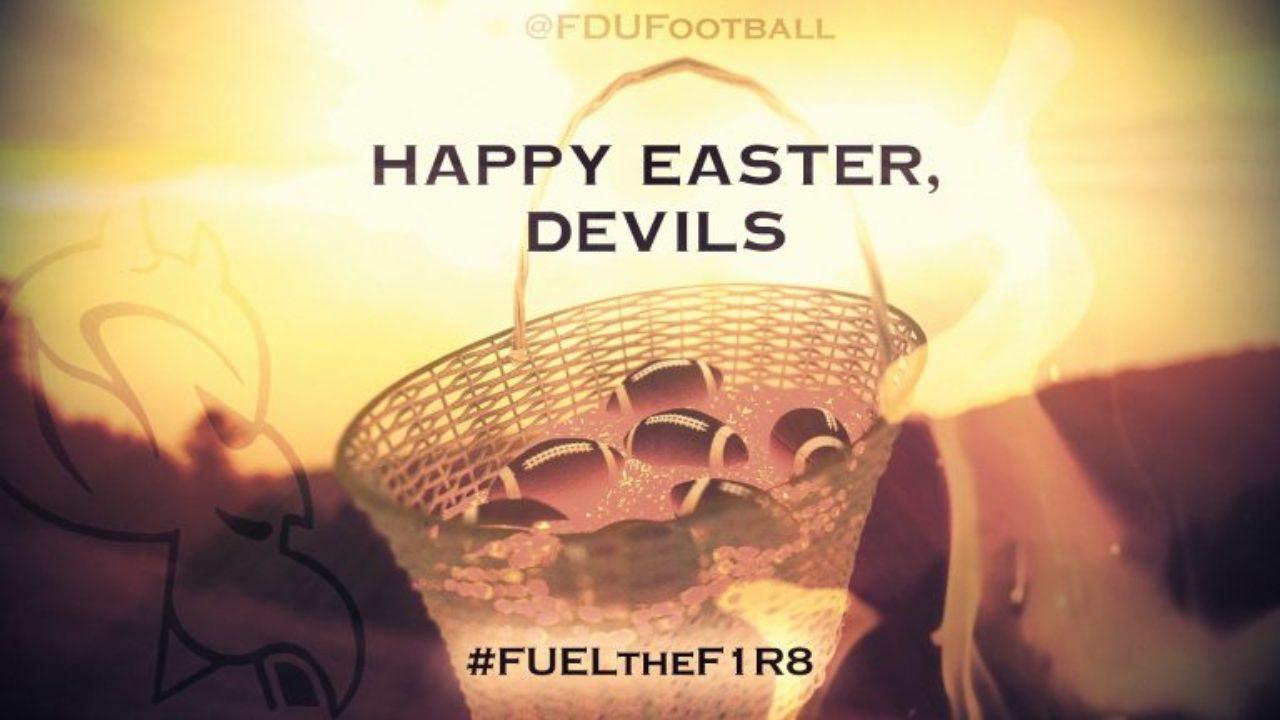 Happy Easter, Devils sign