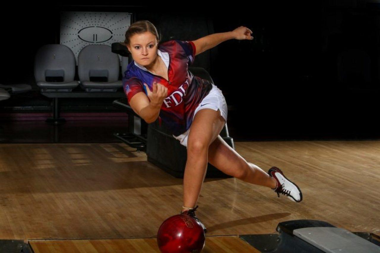 Karsyn Lukosius bowling