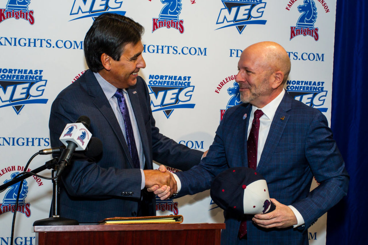 President Christopher Capuano welcomes Brad Hurlbut as the new Director of Athletics of the Division I Knights.