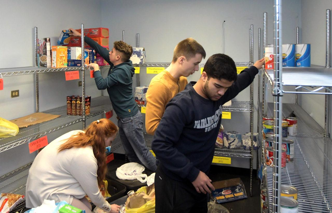 Florham Campus food pantry