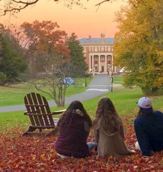 Florham Campus in Fall