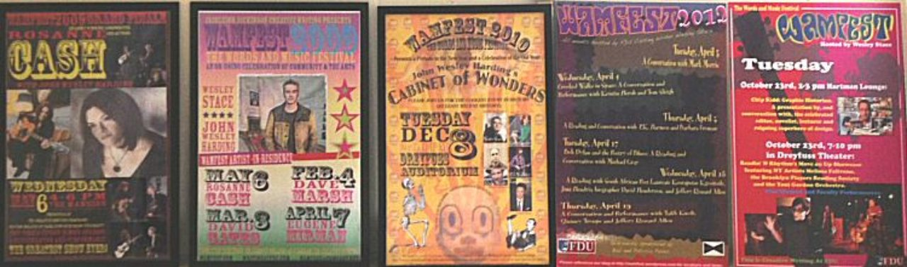 WAMFest posters
