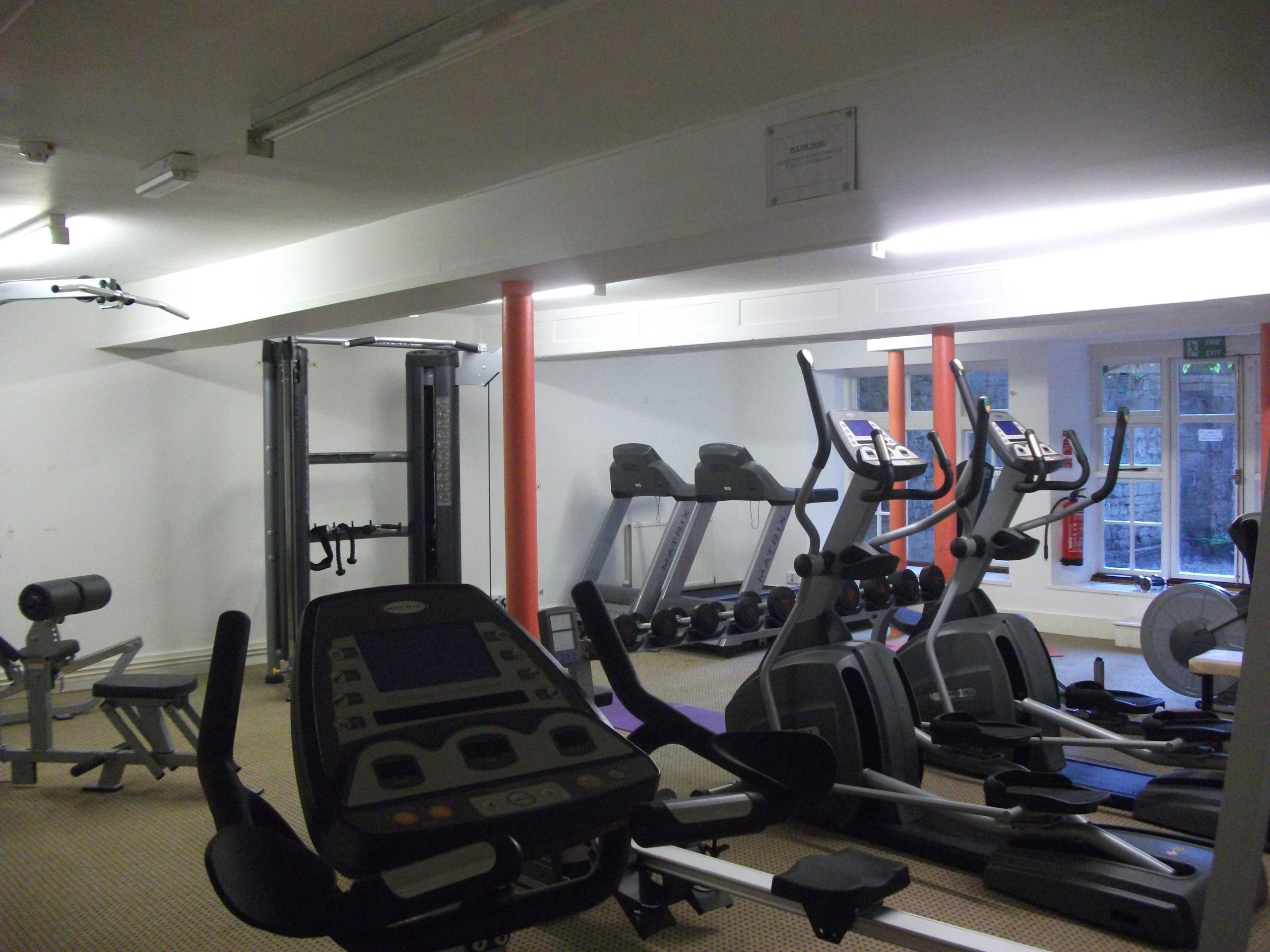 Gymnasium equipment