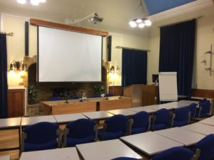Lecture Hall at Wroxton College