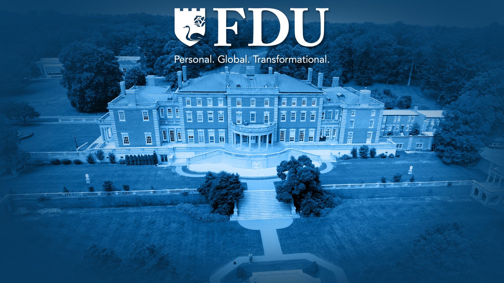 """FDU"" ""Personal. Global. Transformational."""