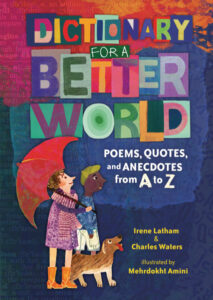 The book cover for Dictionary For a Better World