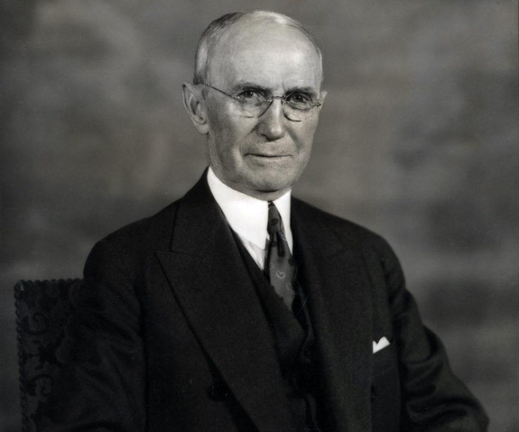 A portrait of Colonel Fairleigh S. DIckinson.