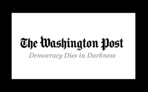 The logo for The Washington Post.