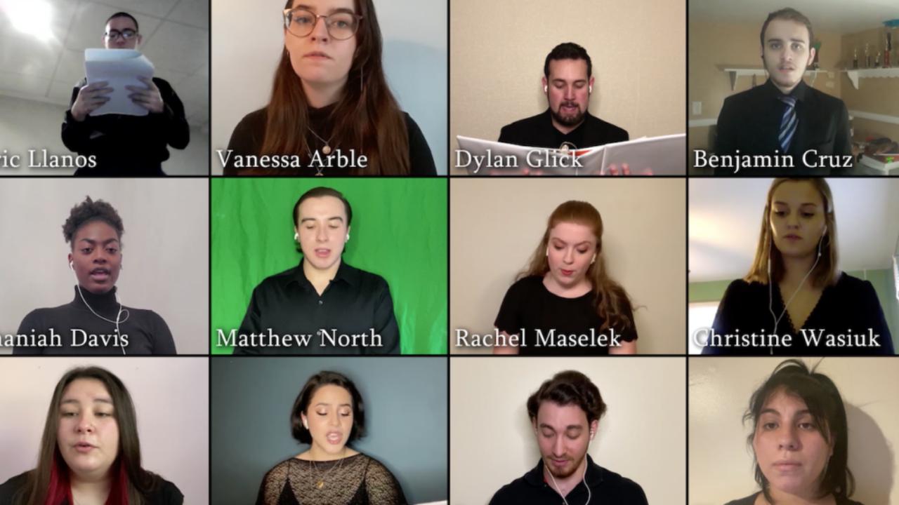 FDU Chorus sings virtually