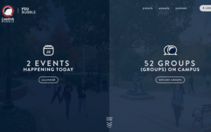 FDU Campus Bubble homepage