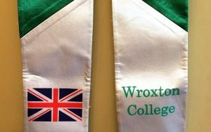 Wroxton College graduation stole