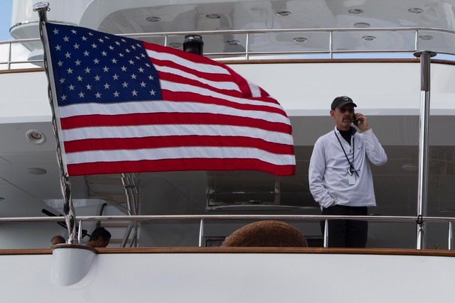Baratta on the Wolf of Wall Street boat
