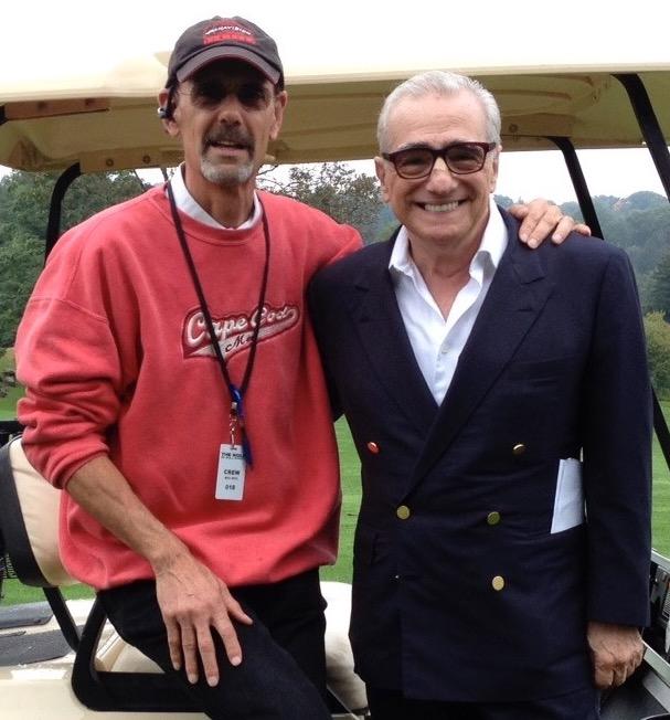 Richard Baratta with Martin Scorsese