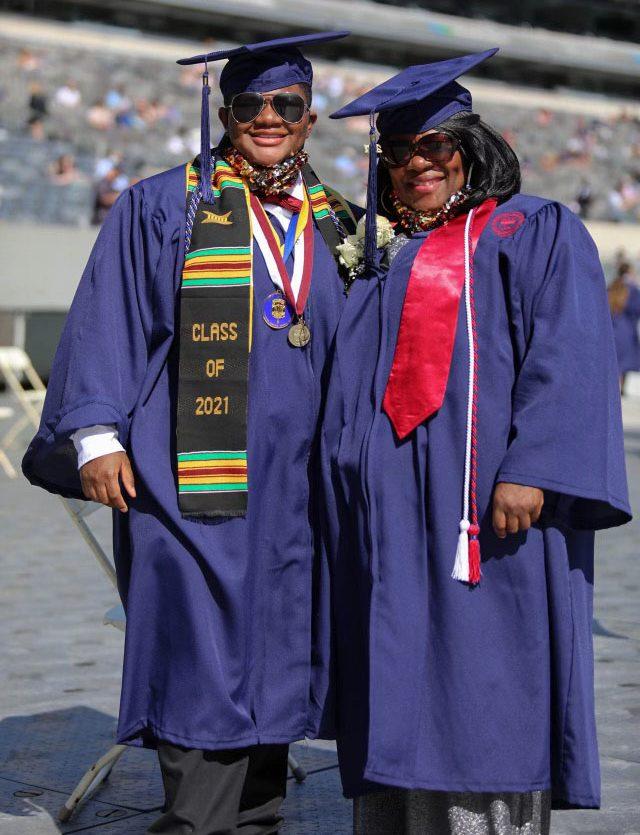 Brenye Burr and Lois Smart