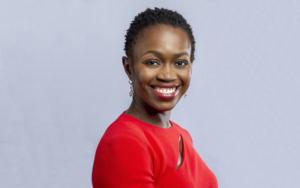 Portrait of a Black business woman.